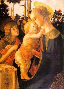 mother and child botticelli